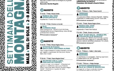 Settimana della Montagna 2021 a Malè: date e programma eventi