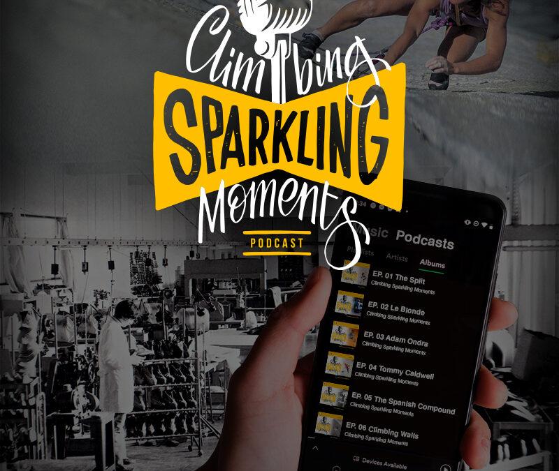 Climbing Sparkling Moments: il podcast dell'arrampicata sportiva