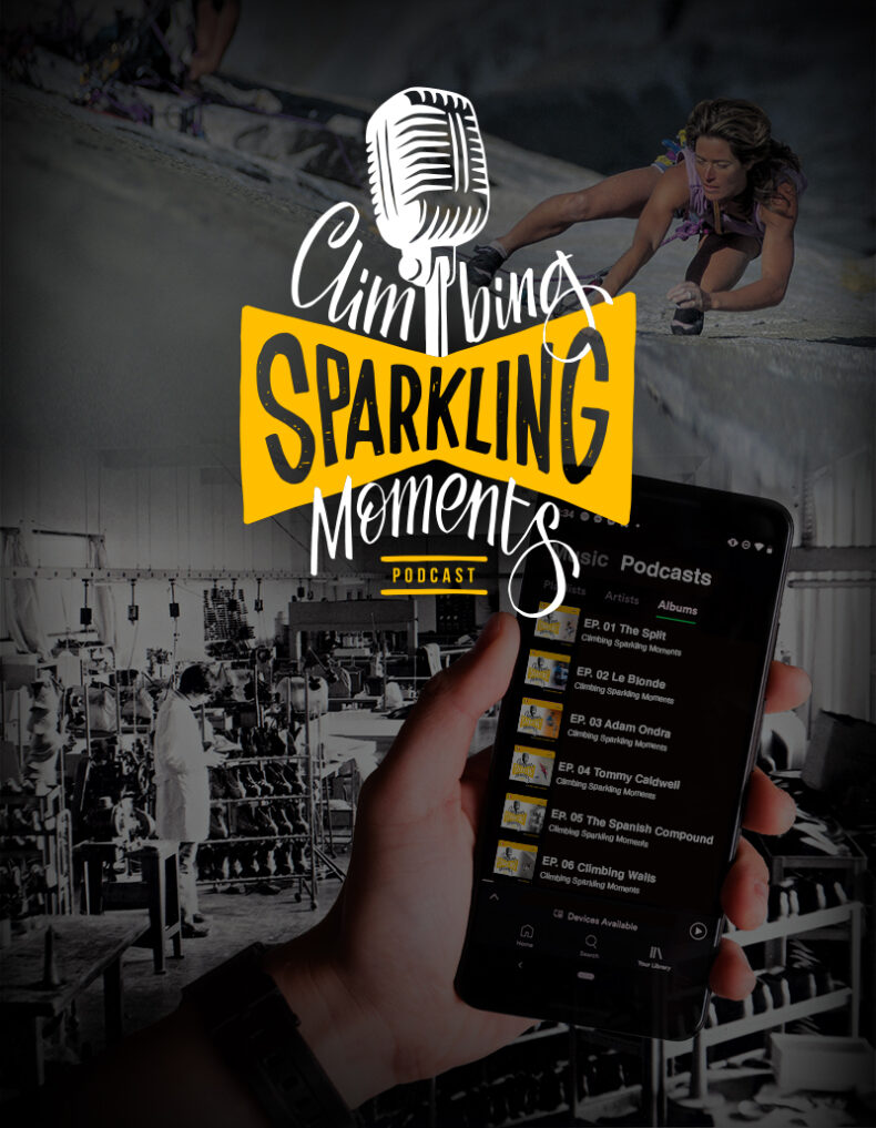 Climbing Sparkling Moments_TOPbanner podcast La Sportiva