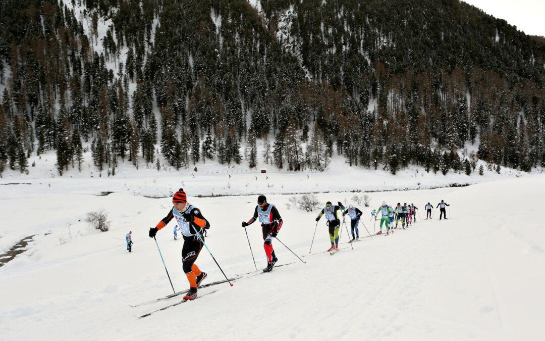 La Venosta 2022: sul Lago di Resia tornano gli sci stretti