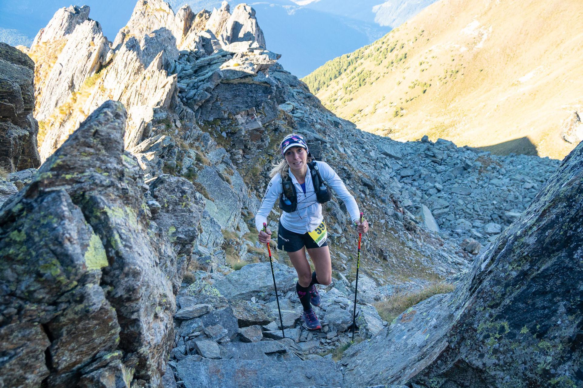 Eva Sperger ha dominato la 90 km tra le donne (Credits:Giacomo Meneghello)