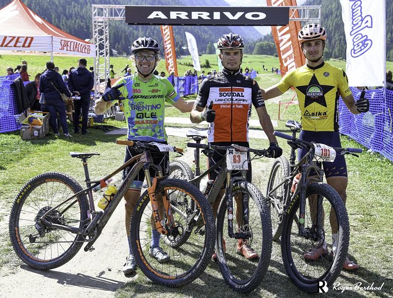 GranParadiso Bike 2021, podio maschile