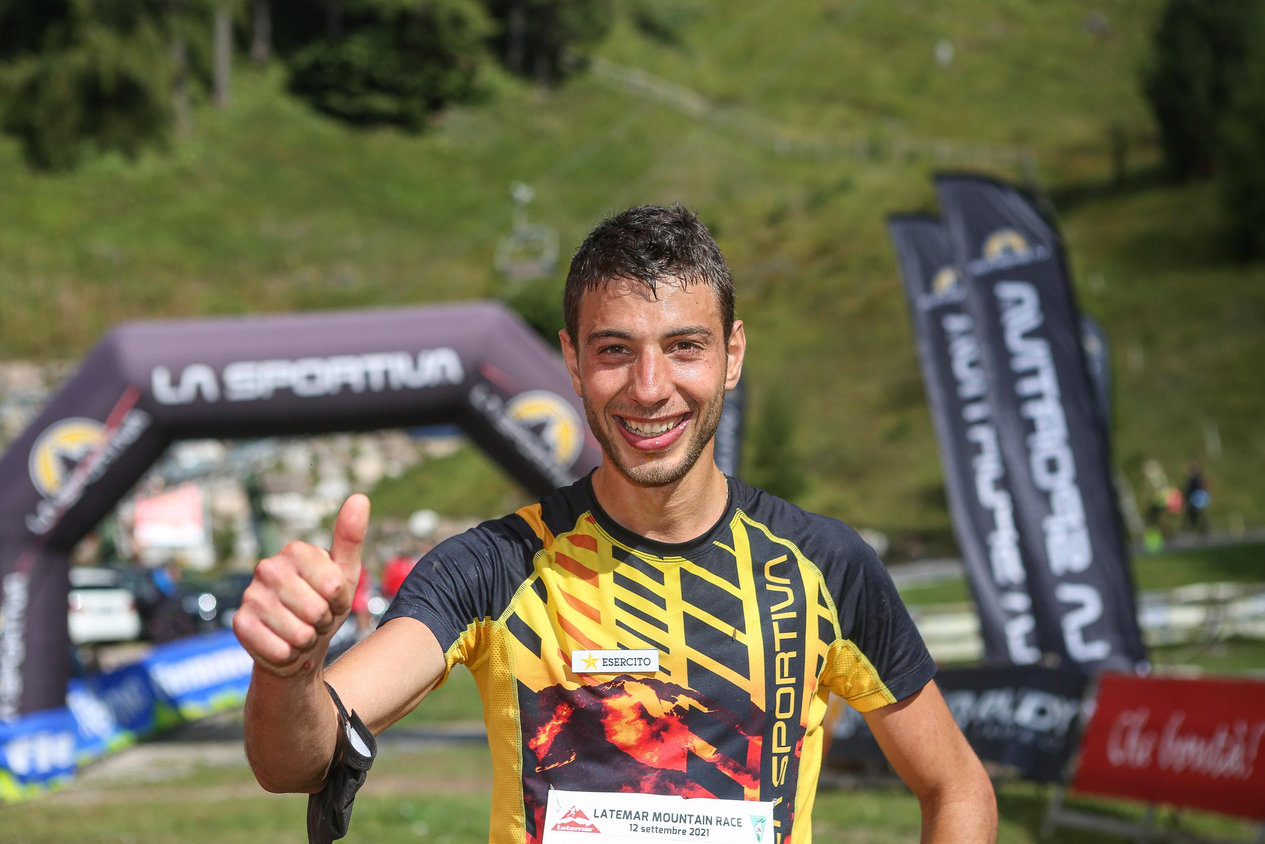 Nadir Maguet vince la Latemar Mountain Race 2021