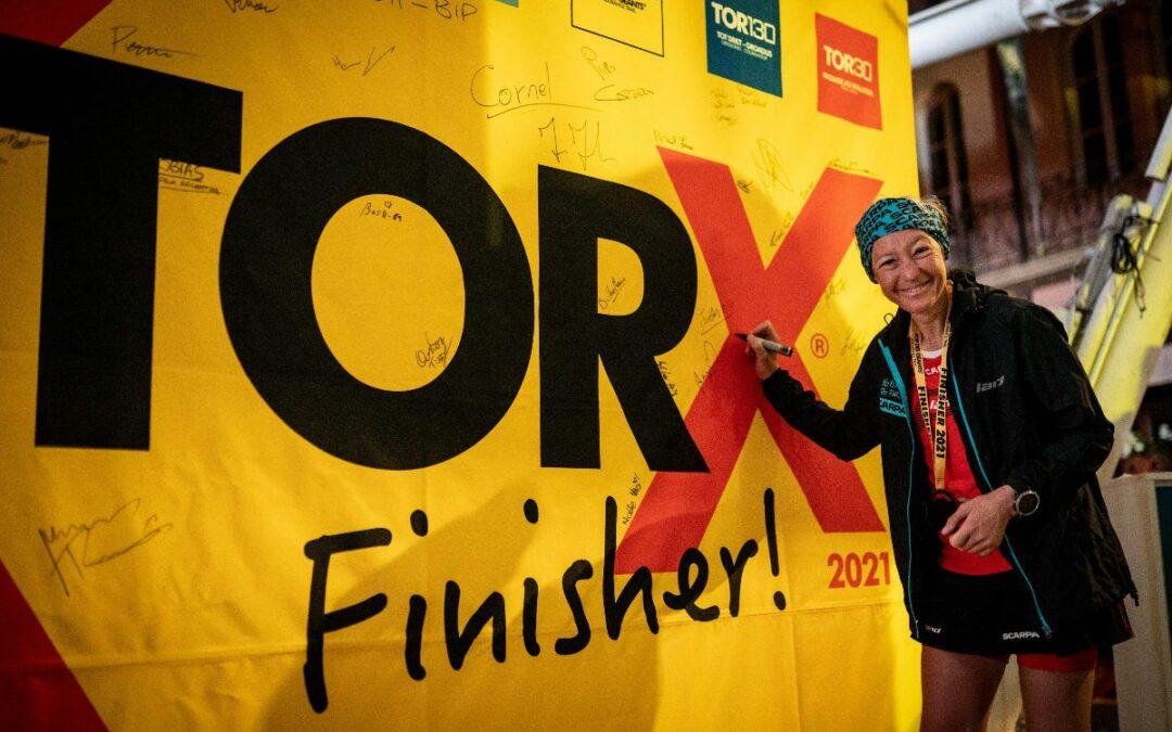 Silvia Trigueros Garrote firma il tris al TOR330 – Tor des Geants®