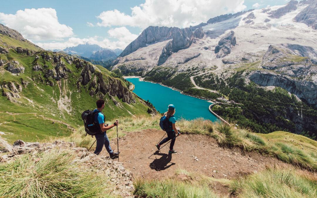 Trekking ad Arabba: i sentieri più belli, le guide, le mappe per camminare sulle Dolomiti