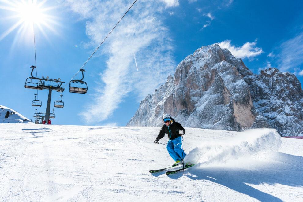 Scaire in Val GArdena, foto credits Dolomites Val Gardena