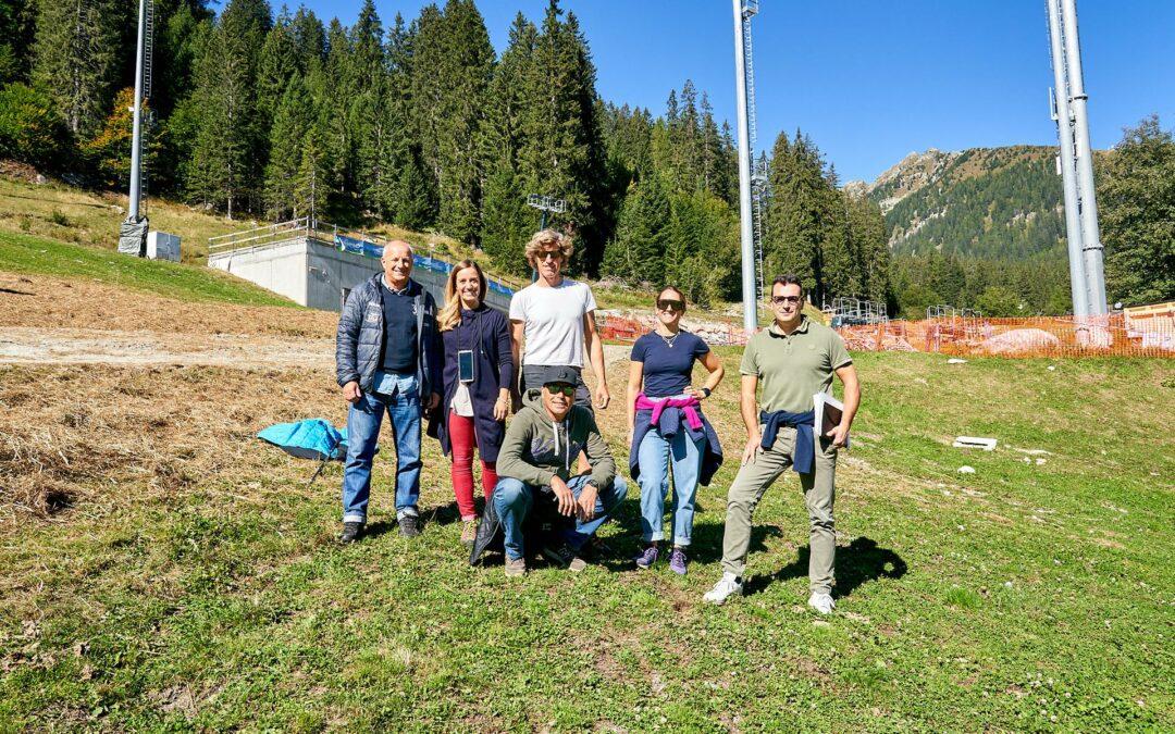 Slalom di Madonna di Campiglio 2021: ispezione della FIS sul Canalone Miramonti
