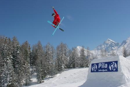 Pila Valle d'Aosta: allo snowpark Disney XD