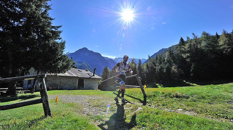 Adamello Ultra Trail in action