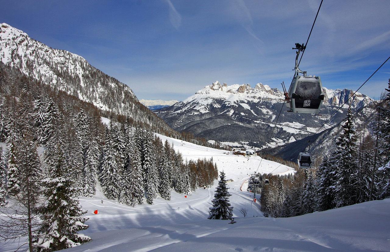 Stagione al via nella Ski area Trevalli: neve naturale e piste aperte