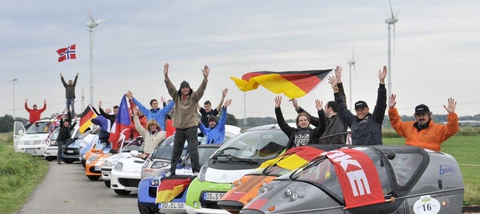 Wave Trophy 2013: le auto elettriche attraversano le Alpi