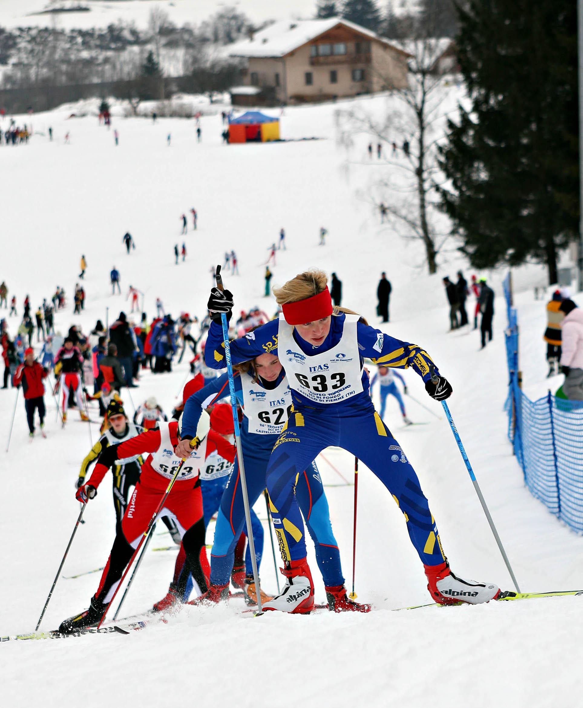 In Valle di Fiemme il Trofeo Topolino delo sci di fondo