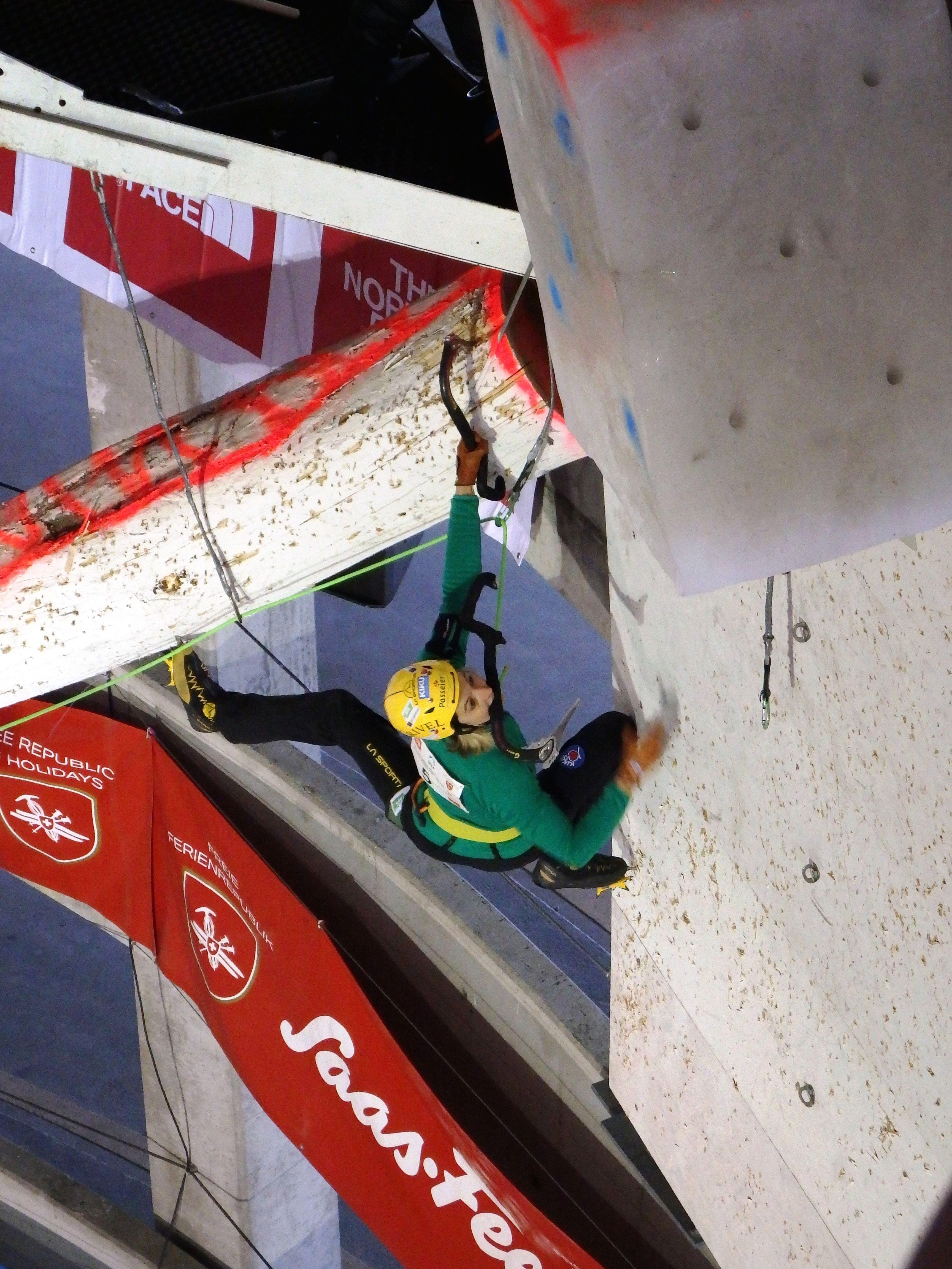 Coppa del mondo di arrampicata su ghiaccio: Maxim Tomilov  e Angelika Rainer vincono a Saas Fee – Classifica