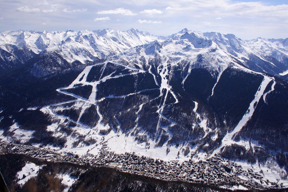 Sciare ad Aprica, dove la neve è amica