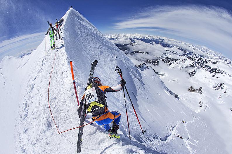 20° Trofeo Mezzalama: scialpinismo eroico