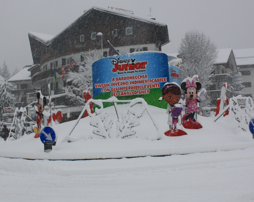Nevicata a Bardonecchia: fotografie di oggi!