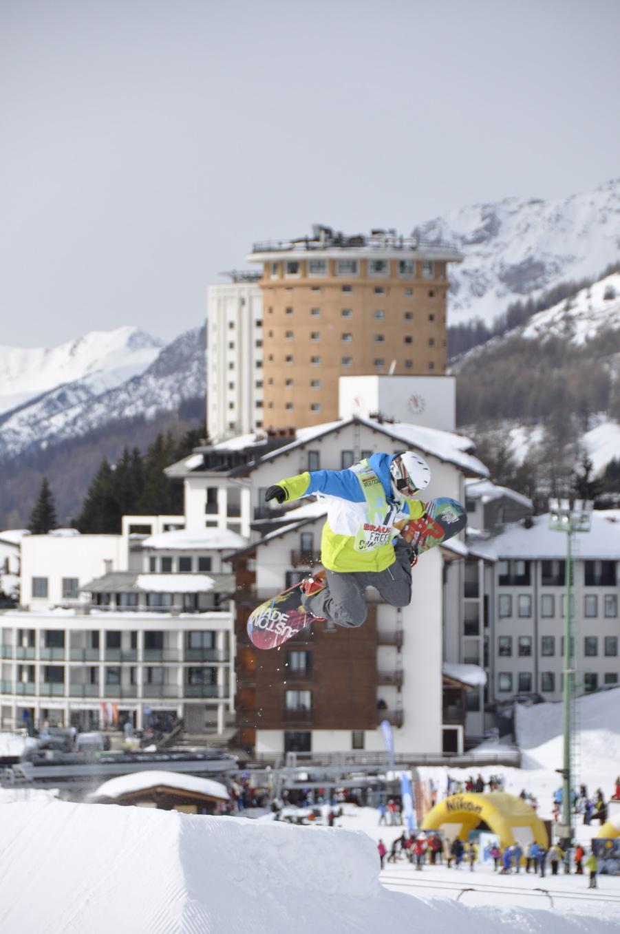 Bràulio Vertical Tour 2013, report della tappa di Sestriére