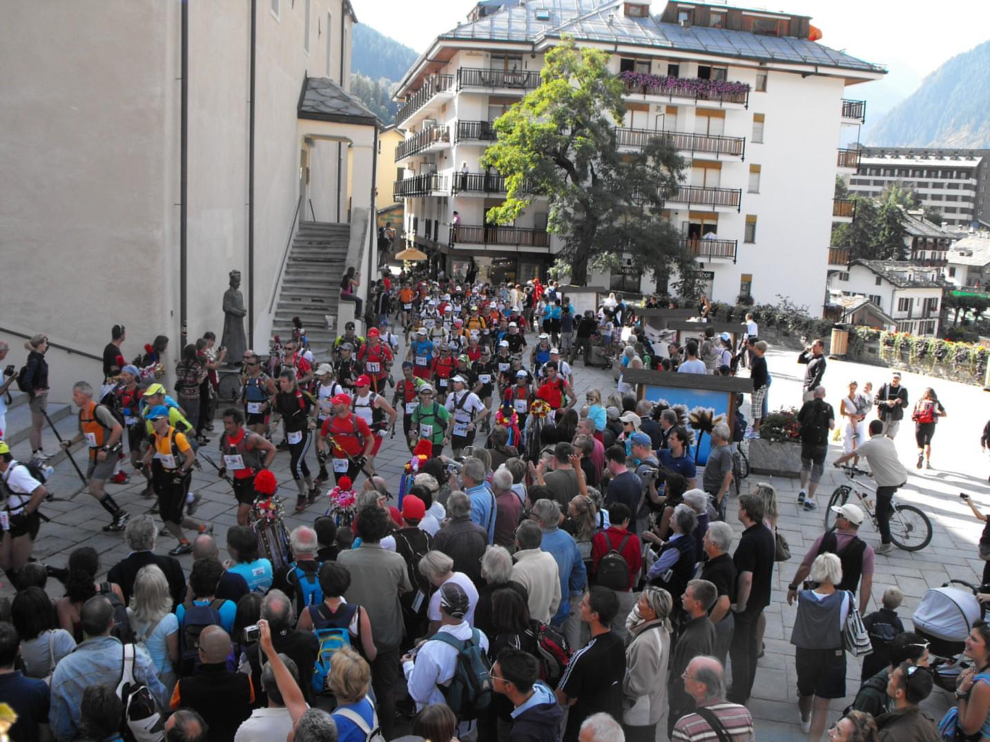 La The North Face® Ultra-Trail du Mont-Blanc® 2010 sta per partire