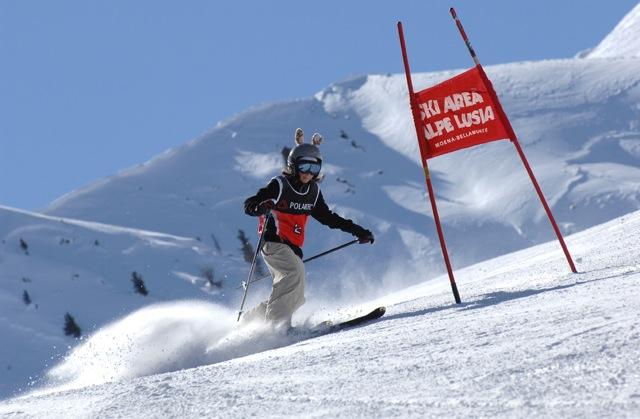 All'Alpe Lusia di Moena il Campionato Italiano Telemark