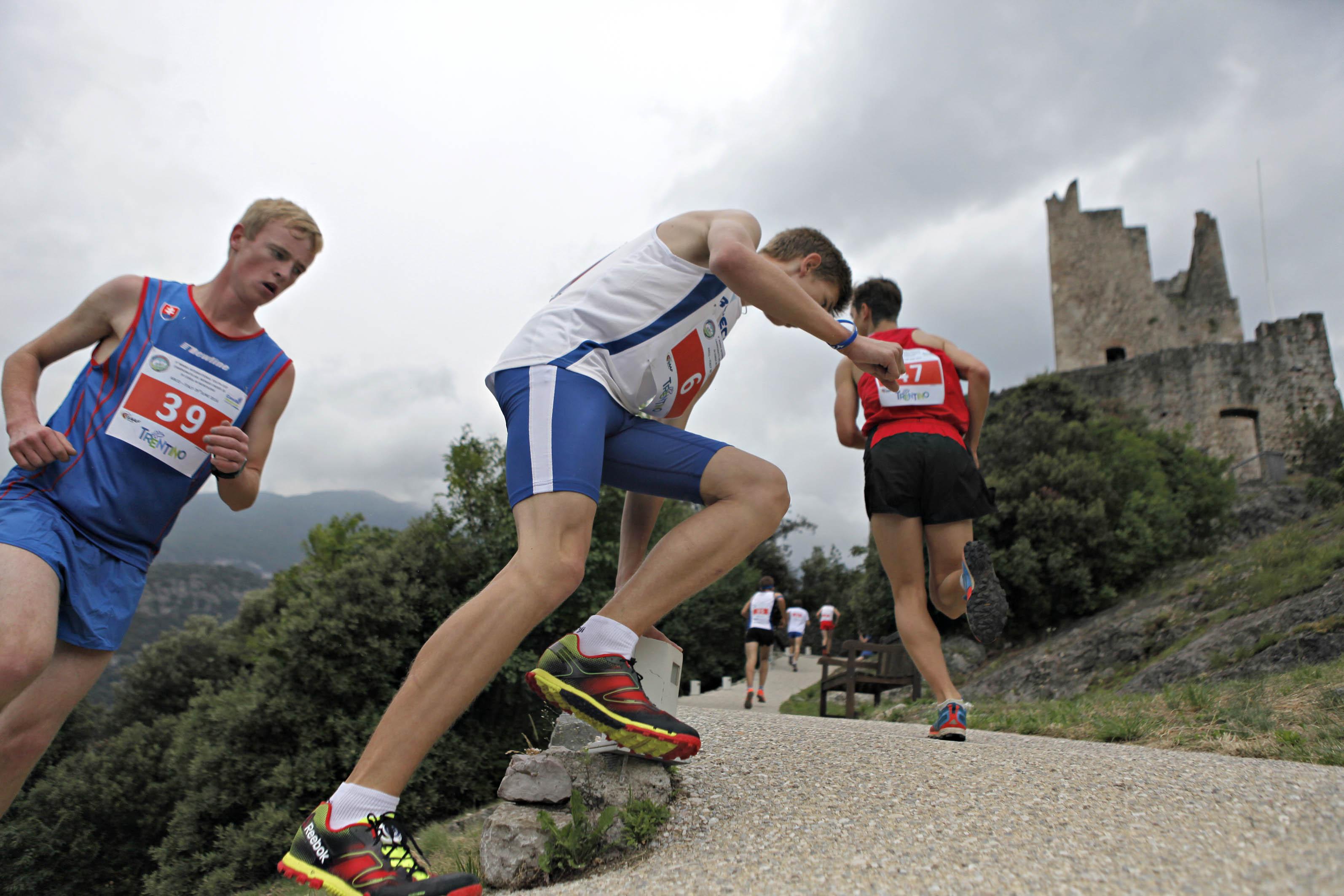 Castle Mountain Running