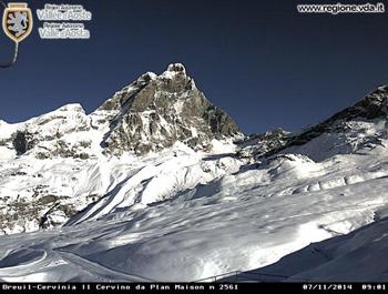 Valle d'Aosta: nevicata del 5 e 6 novembre 2014