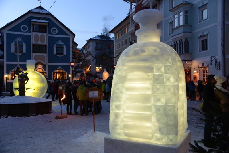 In Val Gardena il XII Concorso di scultura in ghiaccio