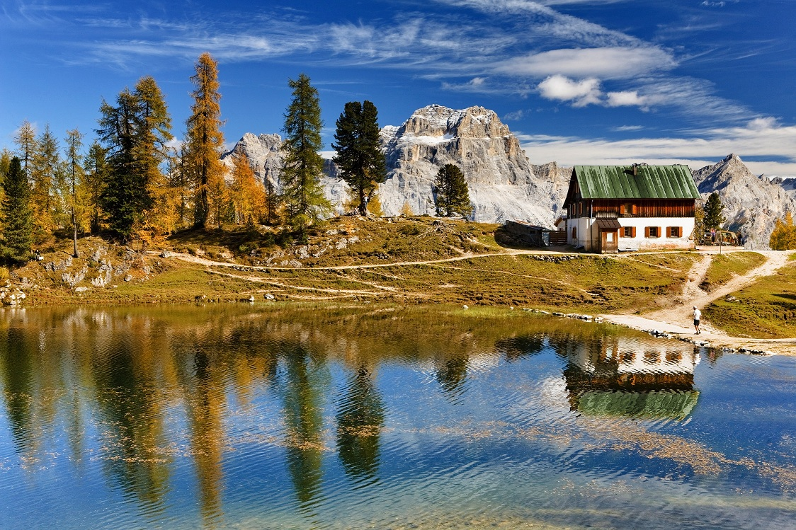 Autunno a Cortina: camminare, pedalare, arrampicare tra le Dolomiti