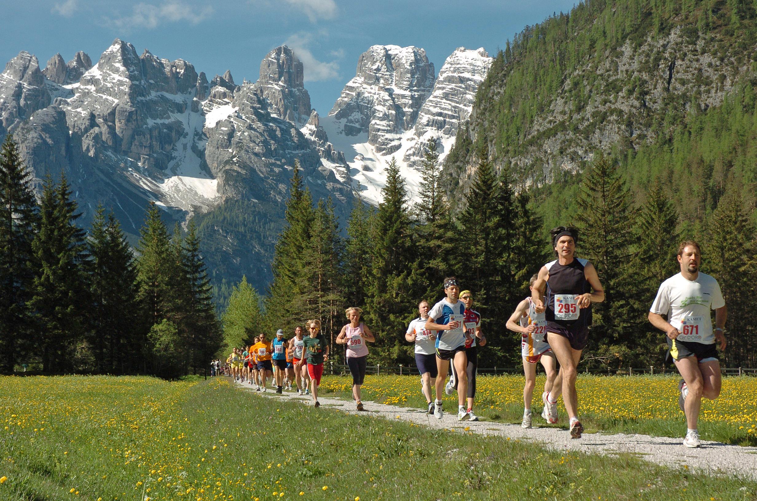 Trail Running sulle Dolomiti