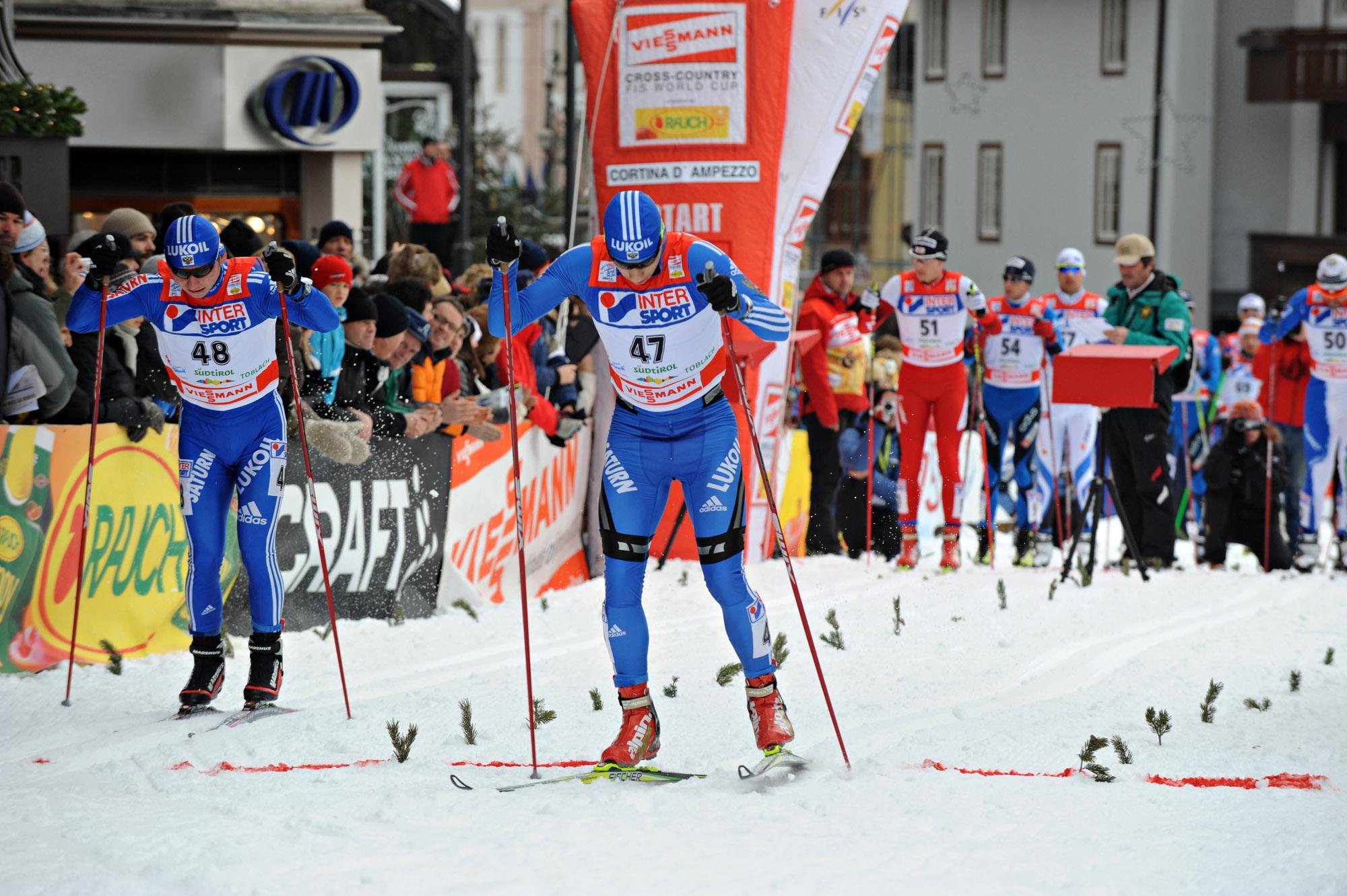 Il Tour de Ski fa tappa a Cortina