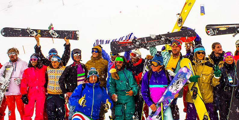 A Courmayeur lo sci torna agli anni '80