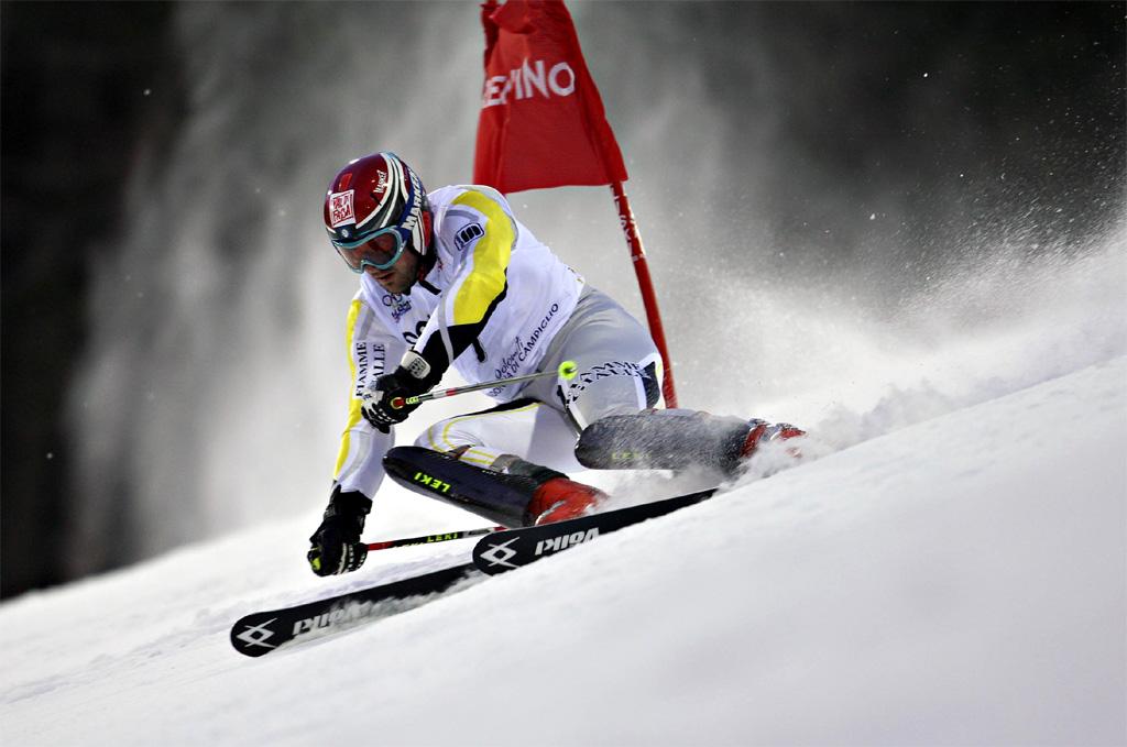 Cristian Deville vince lo slalom speciale di Kitzbuehel