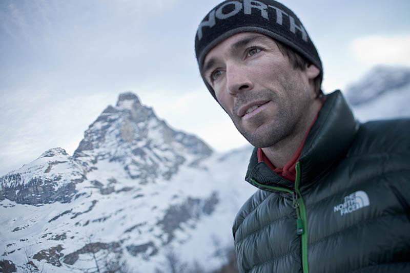Nuova via in solitaria sul Picco Muzio del Cervino per Hervé Barmasse