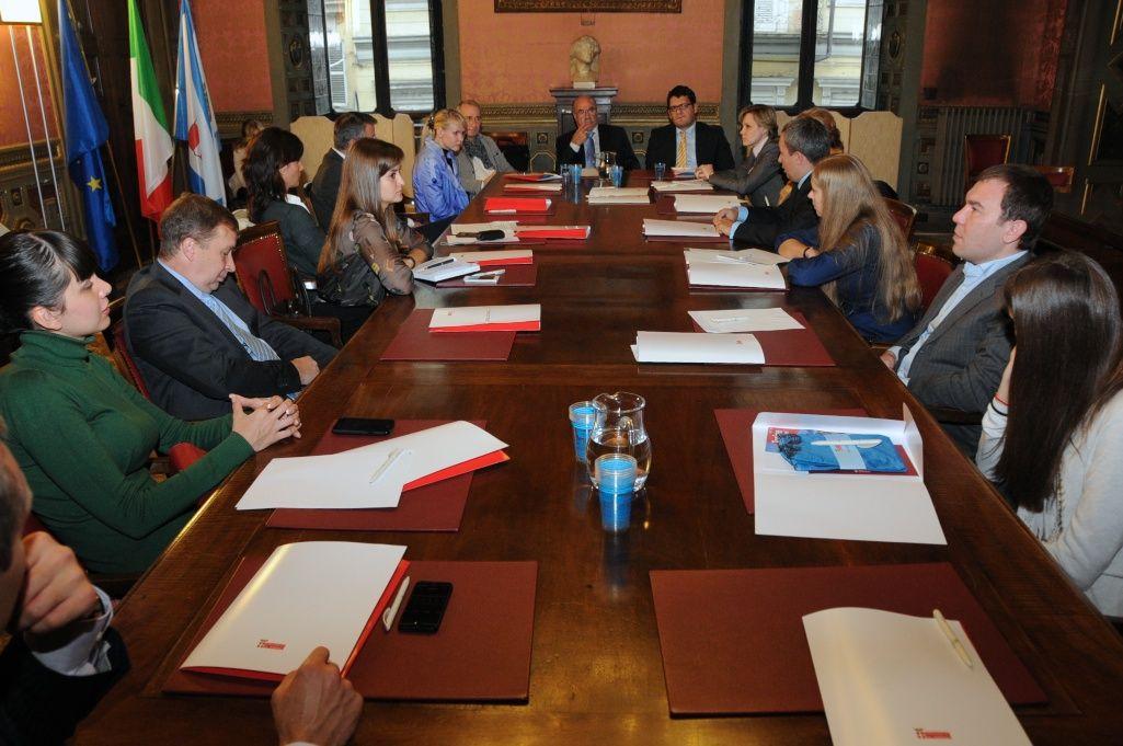 Sochi 2014: una delegazione visita la Torino olimpica