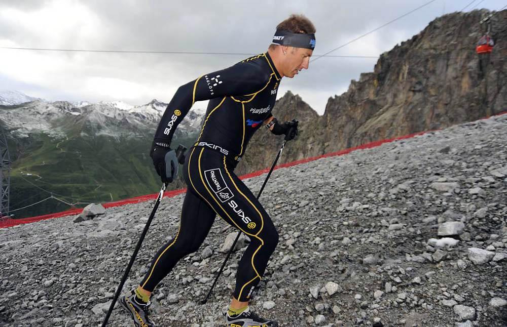 Andrea Daprai fissa il nuovo record di dislivello sull'Adamello