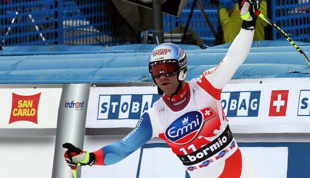 Didier Defago vince la discesa libera di Bormio