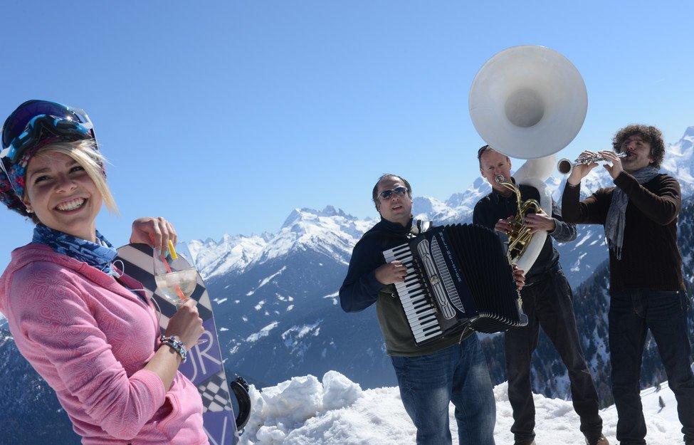 Dolomiti Ski Jazz: musica in pista in Val di Fiemme