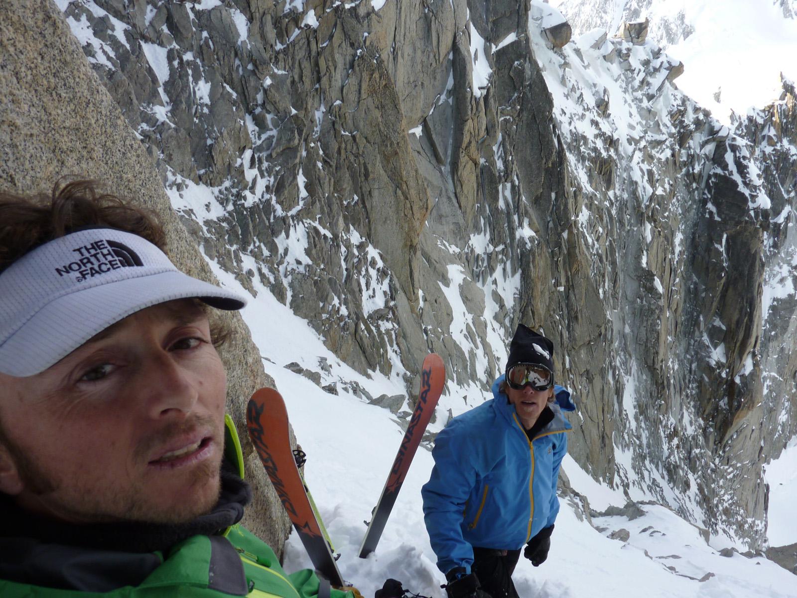 L'alpinista snowborder Davide Capozzi fa il bis sul Monte Bianco