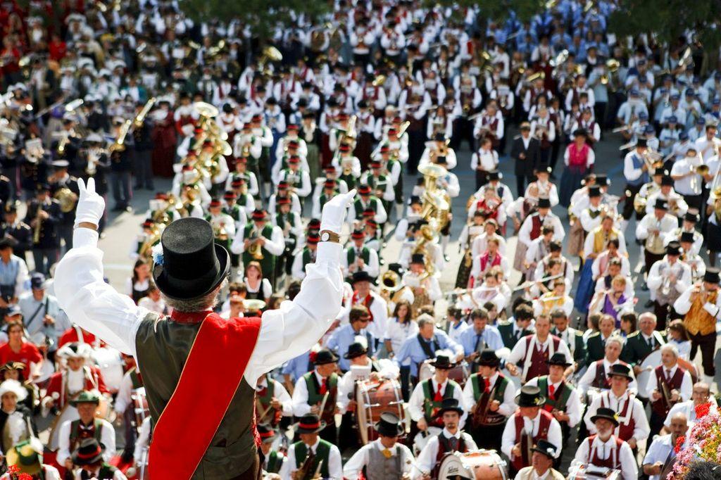 Festa delle Bande a Cortina d'Ampezzo
