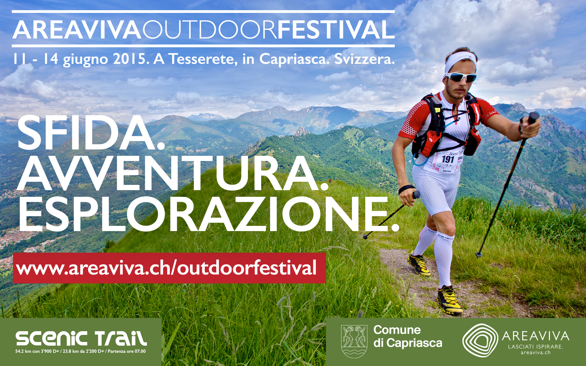 In Svizzera il 1° Festival dell'Outdoor