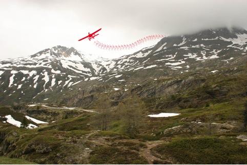 Tra Italia e Svizzera un percorso d'arte outdoor sulle orme dell'aviatore Geo Chavez