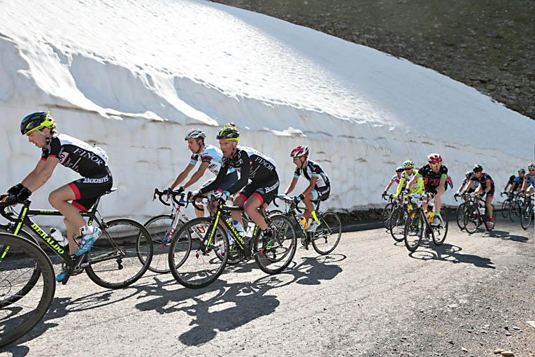 Ciclismo d'altri tempi alla Granfondo Giordana 2013