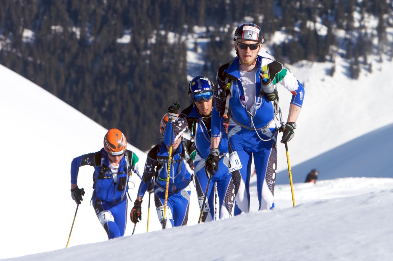Raduno a Falcade la squadra azzurra di scialpinismo