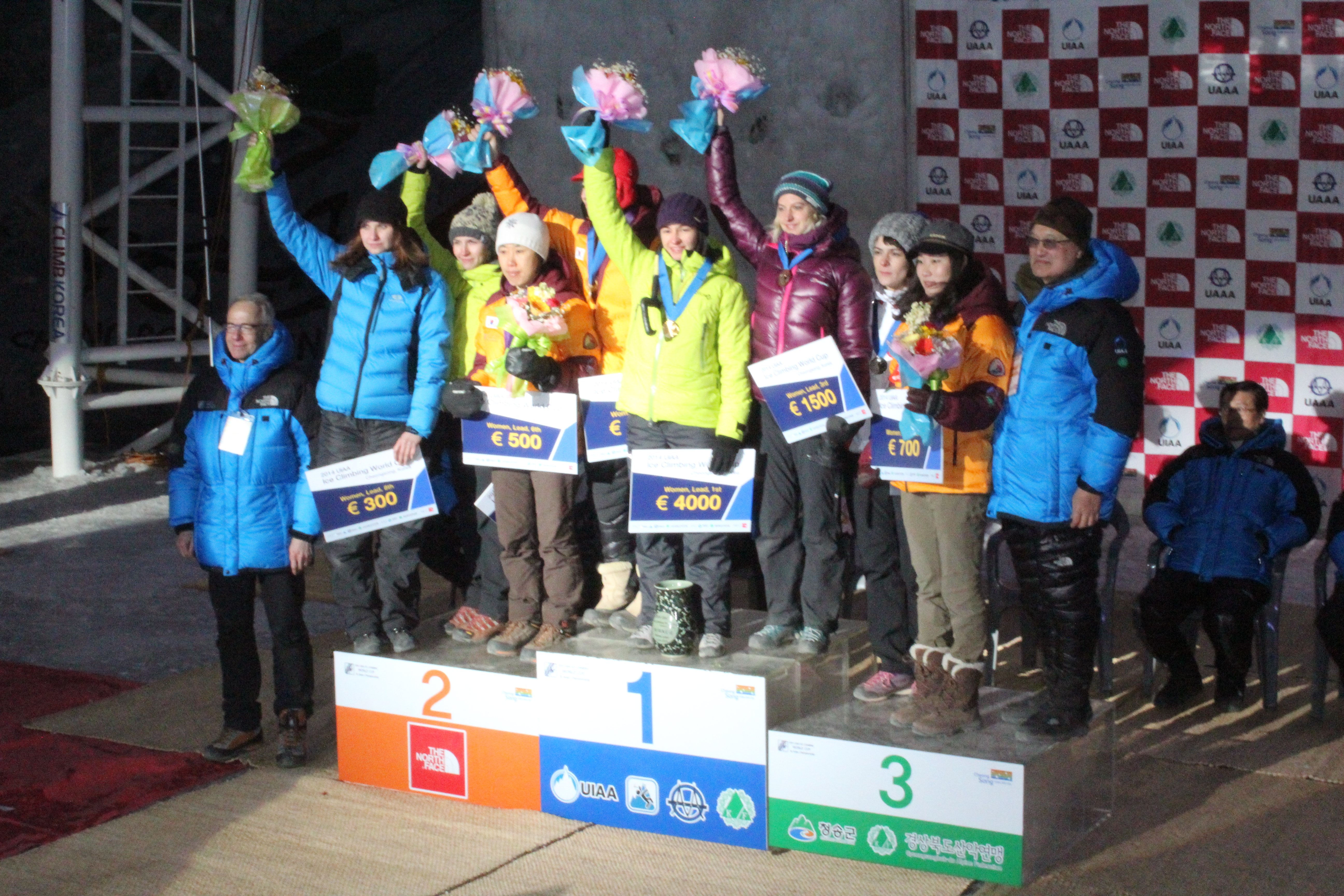 Coppa del mondo di Iceclimbing: Angelika Rainer centra il podio in Korea