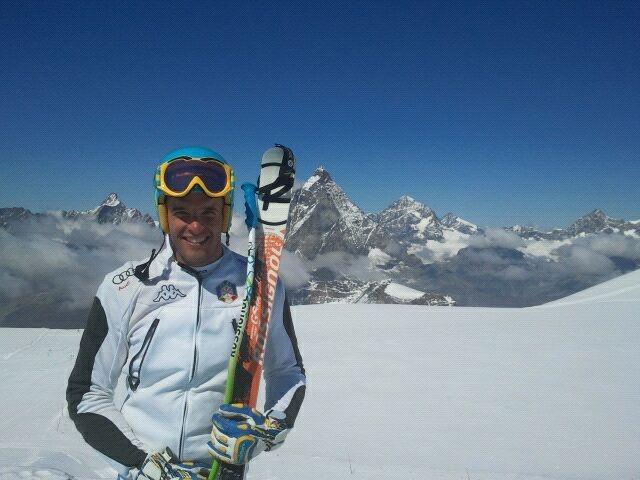 Christof Innerhofer, il bilancio dell'allenamento di Zermatt
