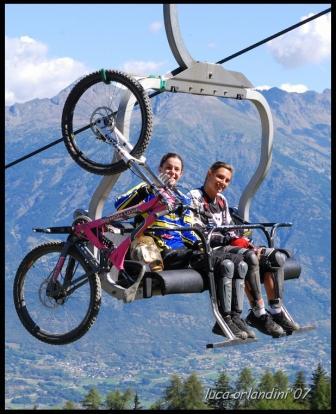 Pila – Aosta in Mountain Bike: aperto il tracciato della Desarpa Bike