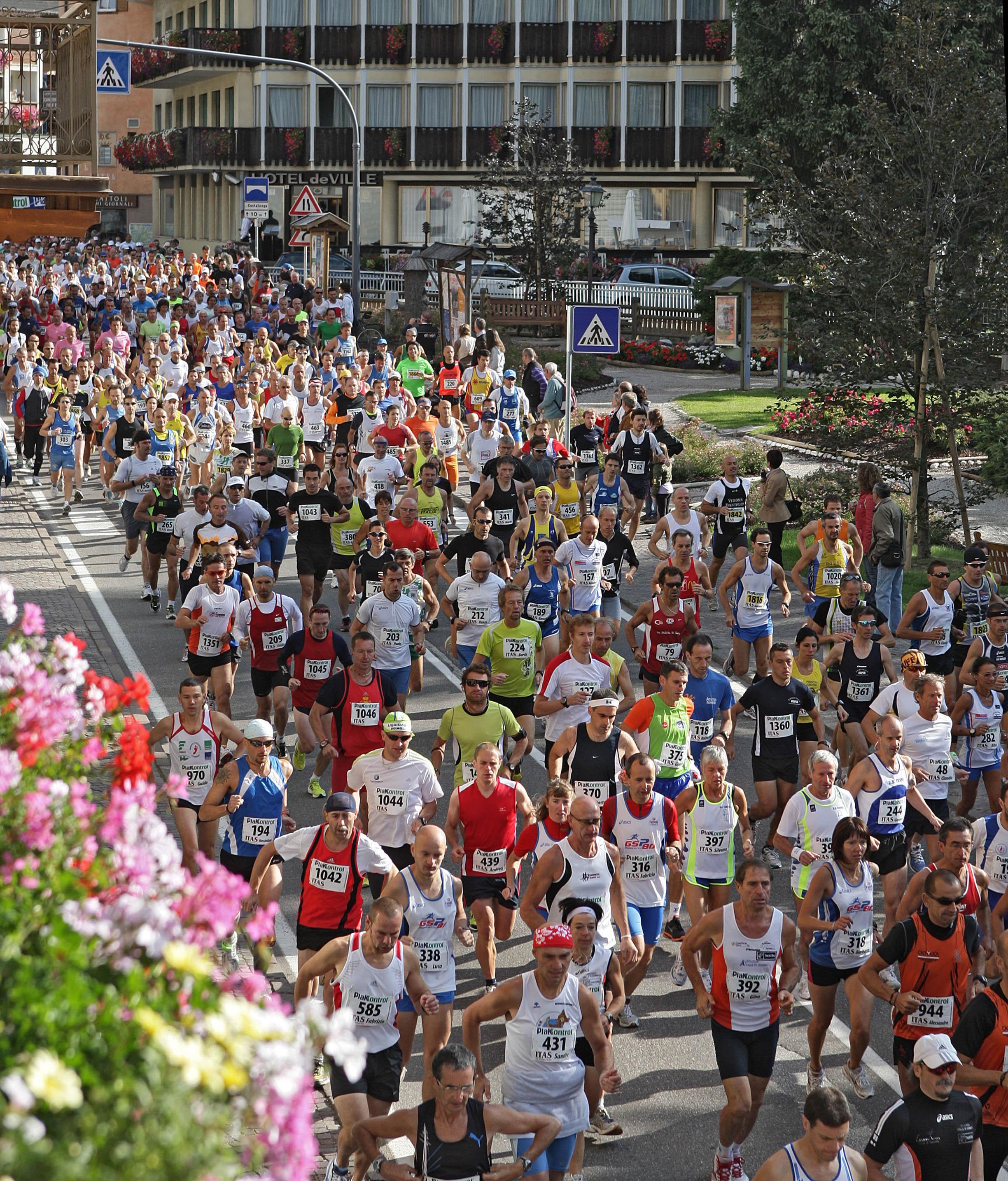 Marcialonga Running 2010: classifiche e fotografie