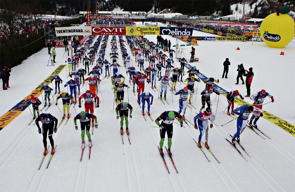 Marcialonga e Tour de Ski presentati a Milano con Alberto Tomba