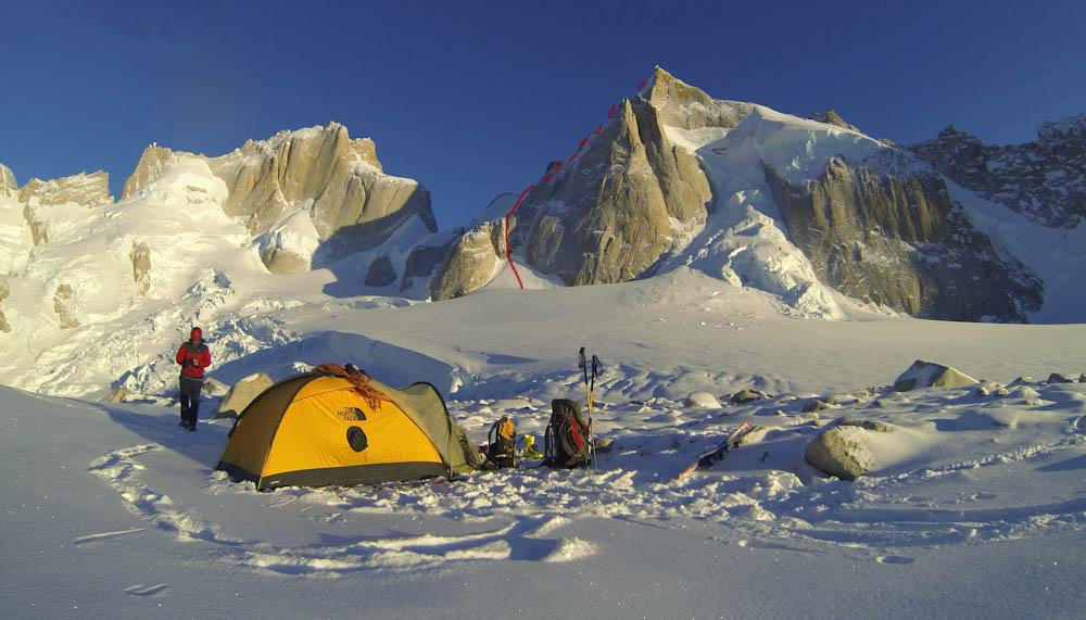 Hervé Barmasse, Patagonia winter 2013
