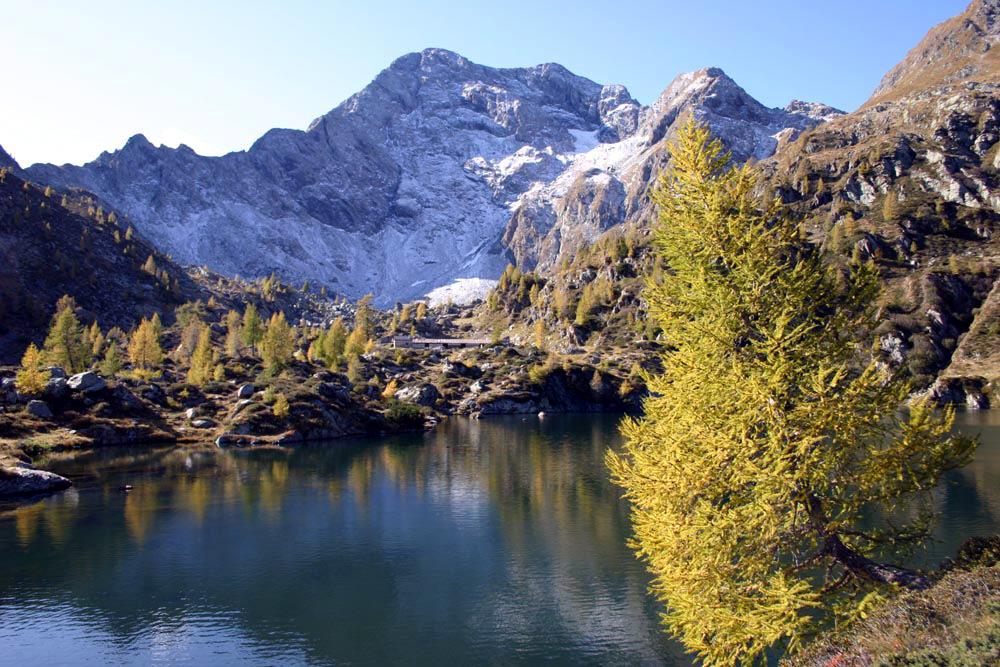Aprica, escursioni autunnali ai Laghi Torena