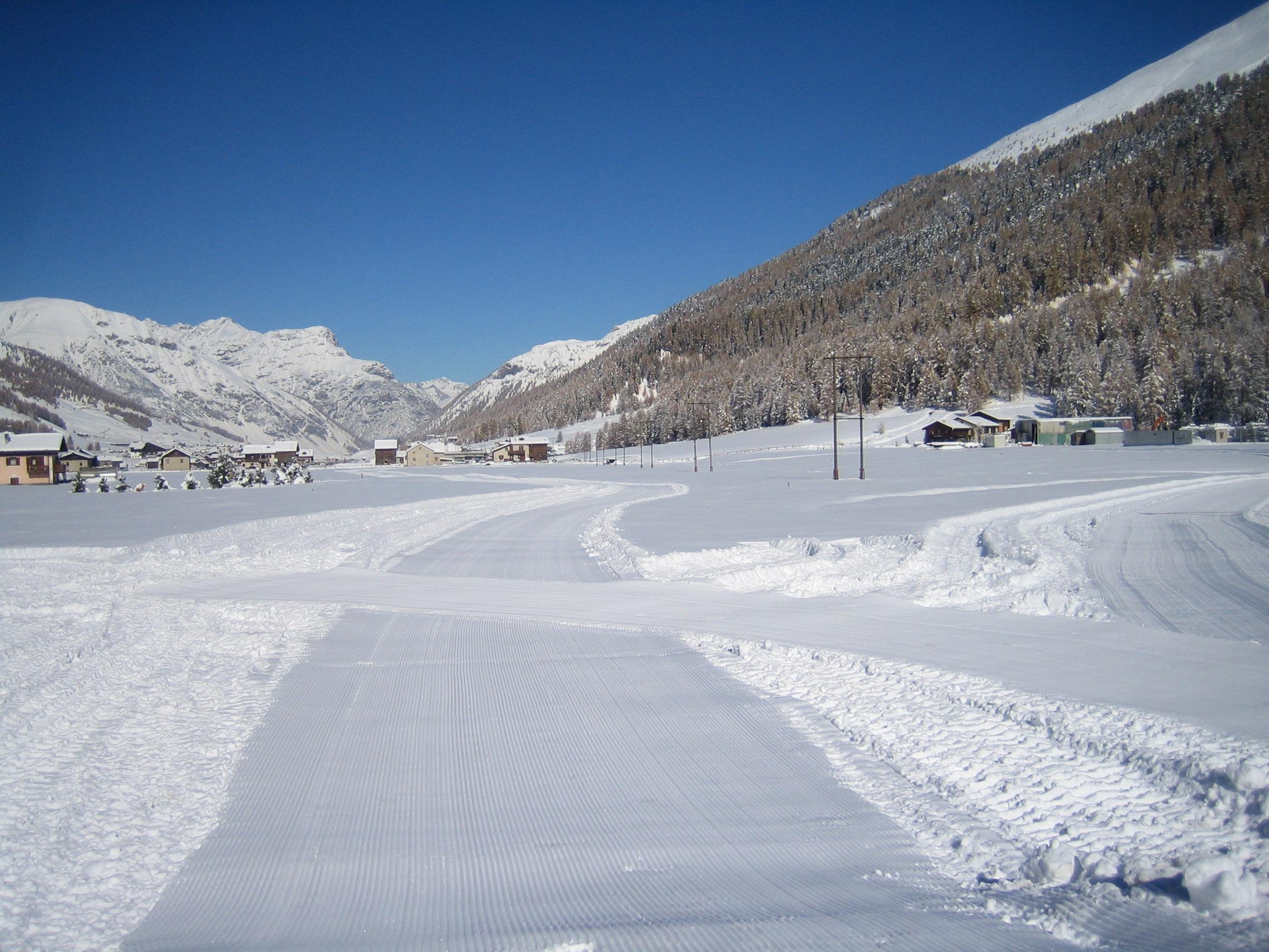 Anello per lo sci di fondo aperto a Livigno
